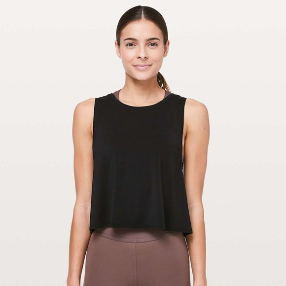 LULULEMON x SoulCycle Ride and Reflect Crop Tank